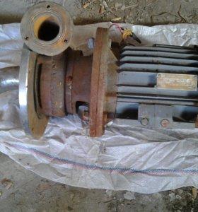 Насос БЦН 10³ бронза, двигатель 3квт 3000 об/мин.