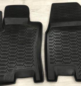 Комплект оригинальных резиновых ковров Nissan Qash