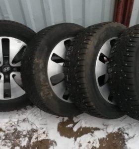 Зимние шины Hakkapeliitta 7 с литыми дисками