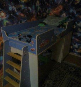 СРОЧНО!!Продам кровать детскую