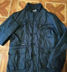 Куртка стильная мужская размер 48