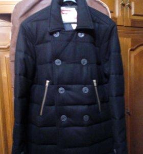 Новое , стильное пальто(бушлат)