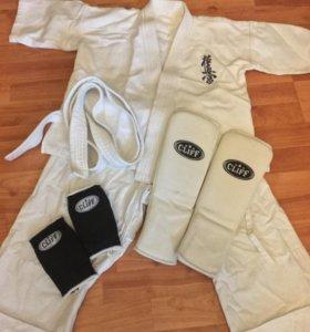 Кимоно для Карате детское и защита