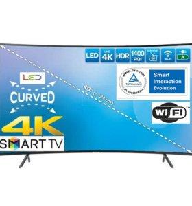 Новый огромный телевизор SAMSUNG