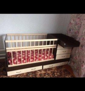 Новая, детская кроватка