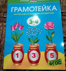 Тетрадь Грамотейка