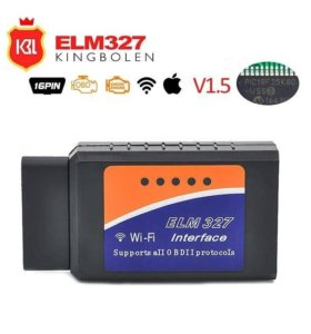 Диагностический сканер ELM327 Wi-Fi, версия 1,5