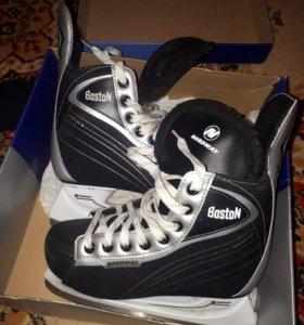 Коньки хоккейные, 37 размер