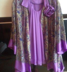 Праздничная блуза с топом