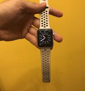 Apple Watch series 3 Nike+ 42 mm silver