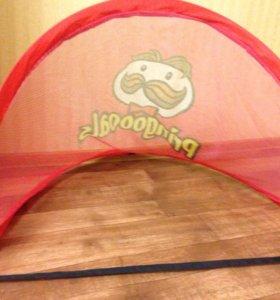 Футбольные ворота Pringles