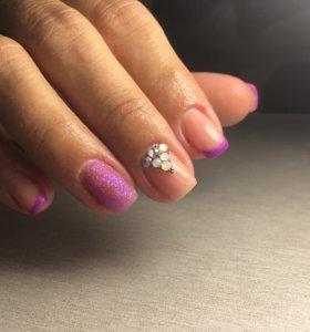 Покрытие ногтей гель-лак(шеллак)