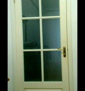 Двери межкомнатные с фурнитурой