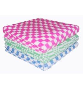 Одеяло (голубое и розовое)
