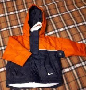 Куртка зимняя Nike для мальчика р.98-104