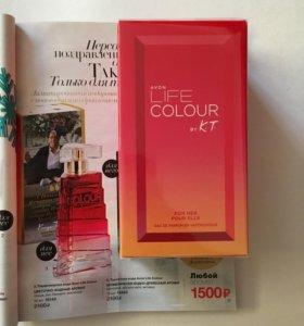 Avon Life Colour (новинка от Кензо Такада)