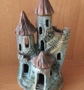Замок в акву керамический