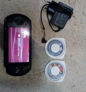 PlayStation PSP-E1008/E1000 (черный)