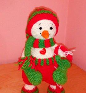 Снеговик рождественский