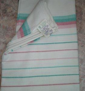 Винтажный постельный текстиль. Новые простыни СССР