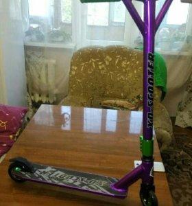 Трюковой самокат xd-scooter