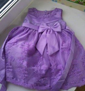Нарядное платье!С этикеткой!