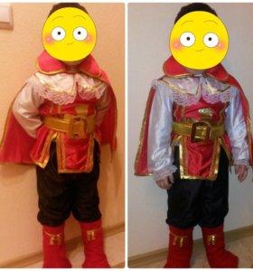 Новогодний костюм мушкетера 3-6 лет