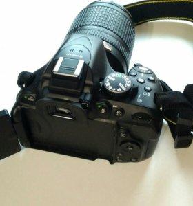 Nikon d5200 kit 18-140VR