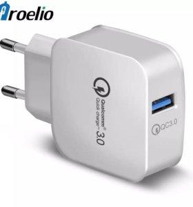 Блок питания для зарядки Qualcomm quick charge 3.0