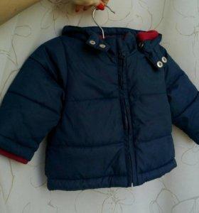 Демисезонная куртка 68 р-р