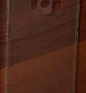 Оригинальная силиконовая накладка Samsung s8+