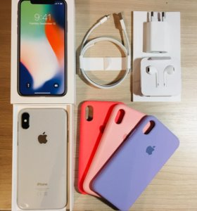 iPhone X White 256gb
