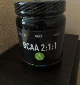 Спортивное питание ВСАА 2:1:1 вес 240г. 40 порций