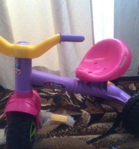 Новый Велосипед трехколёсный детский
