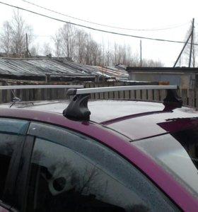 Багажник на хендай солярис хэтчбек