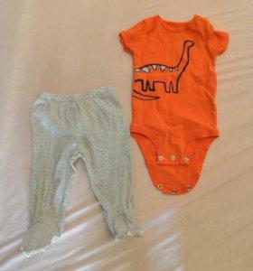 Одежда для девочки фирмы Carter's 0-3 месяца