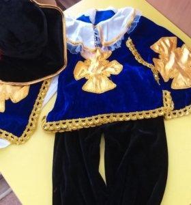 костюм мушкетера для мальчика 3-5 лет