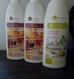 Средство для чистки духовок и для мытья посуды Фаб
