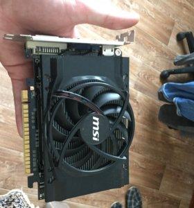 Продаю видеокарту nvidia GeForce gts 450