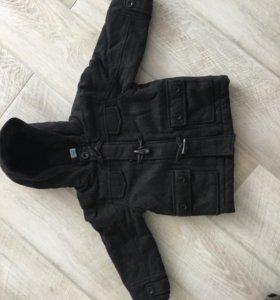 Пальто для мальчика 98 см
