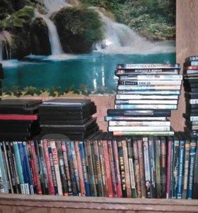 DVD диски с комедиями сериалами боевиками итд