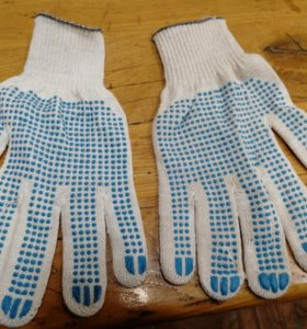 Перчатки в гараж (5 нитей)