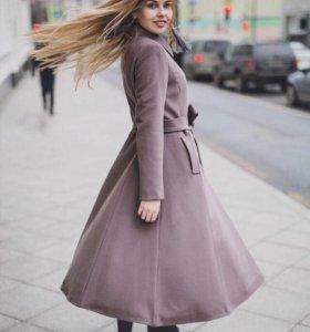 Пальто шерсть с кашемиром