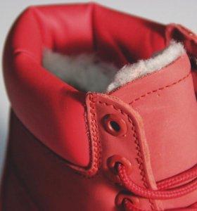 Зимняя женская обувь сапоги ботинки Тимберленд