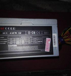 Блок питания для системного блока Accord 450w