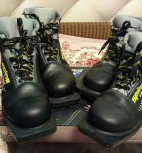 Лыжные ботинки 39,41