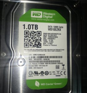 "Жесткий диск 3.5"" Western Digital Caviar Green 1TB"