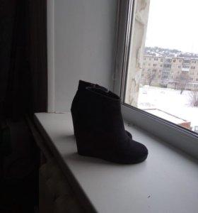 Сапоги зима