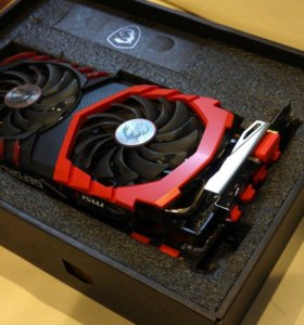 NVIDIA MSI GeForce GTX1050 TI GAMING X