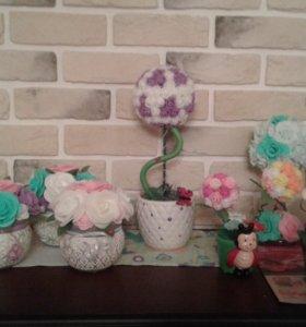 "сувениры ""цветы"""